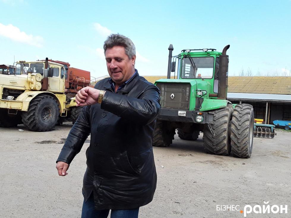 Григорій Ткаченко знає ціну часу