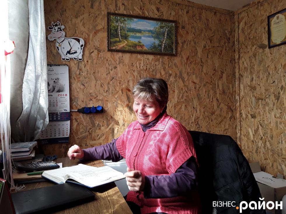 Директорка ферми Наталія Фурс