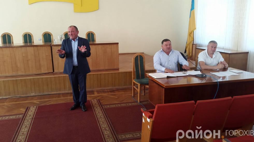 Генеральний директор Горохівського цукрового заводу Вачиль Муха