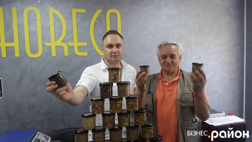 Українець Володимир Халик та уродженець Ломбардії Флореале Заноллі