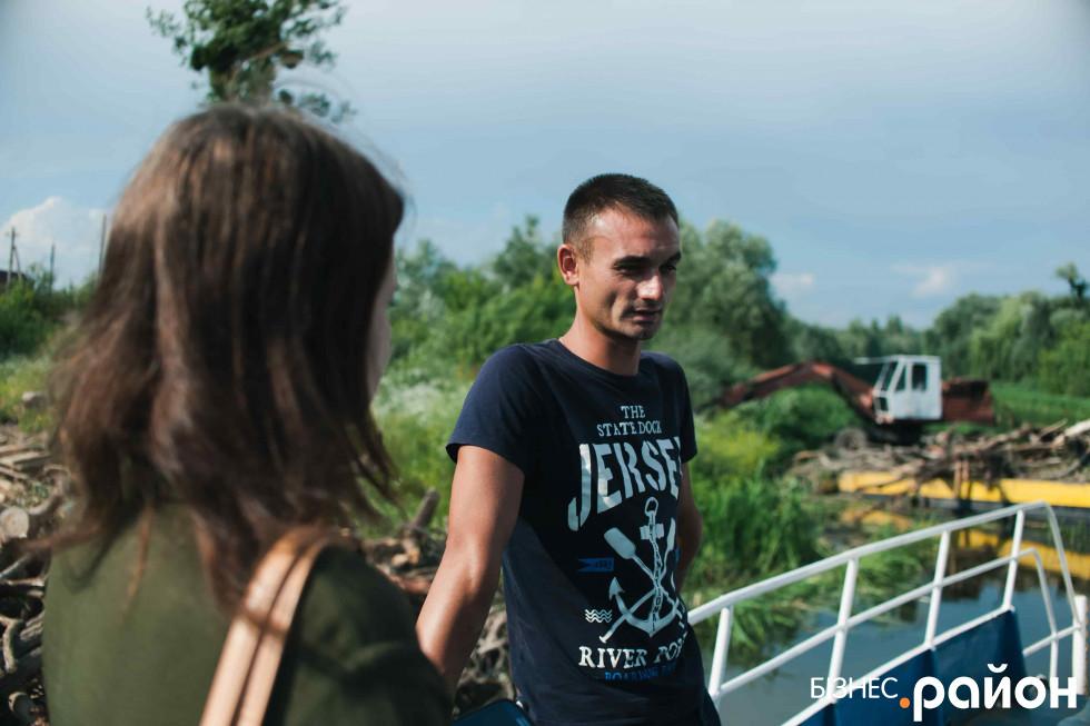 Олег Кербалай вклав гроші в річковий порт, які заробив за кордоном
