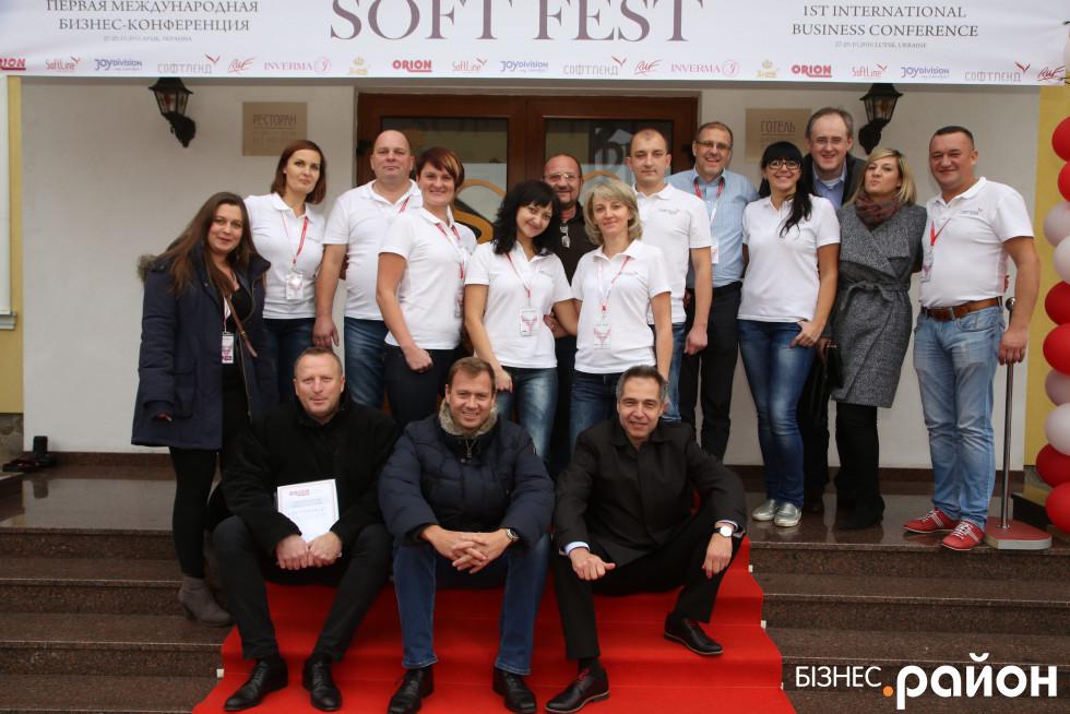 Учасники бізнес-конференції, присвяченої торгівлі інтимними товарами
