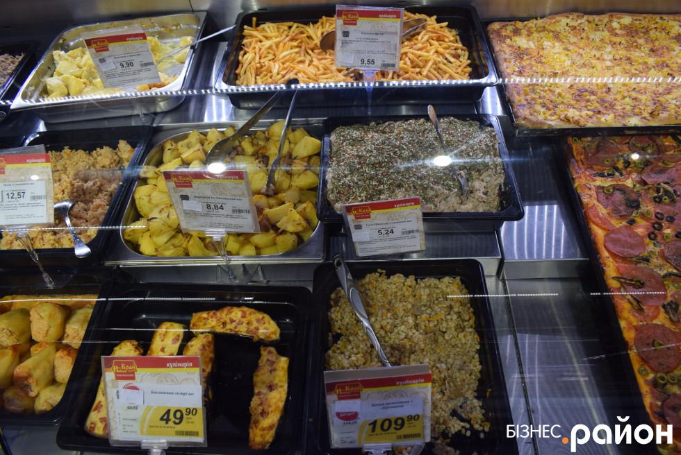 Салати і готові гарячі страви зазвичай купують у другій половині дня