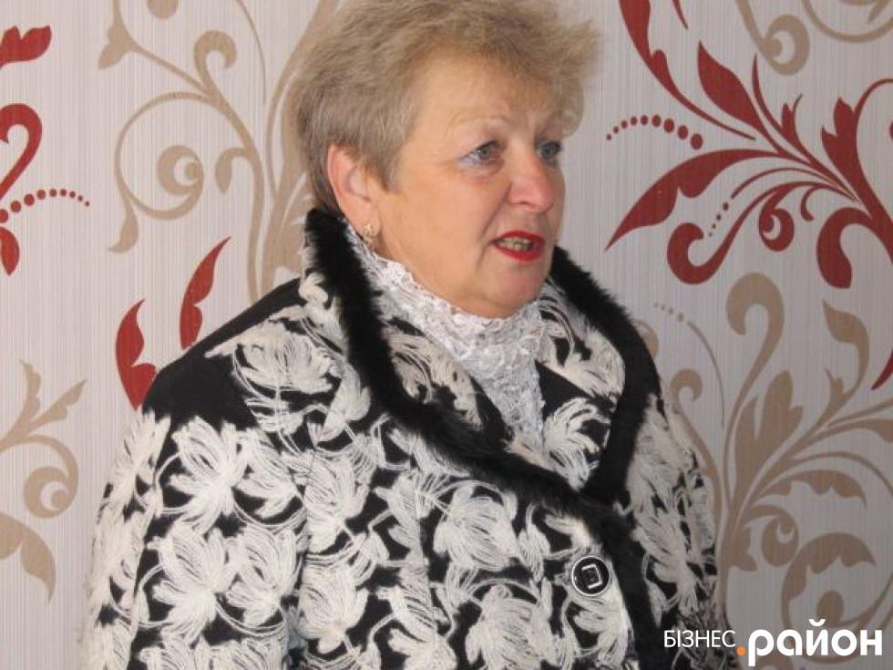 Заступниця очільника ОТГ Ніна Петренко