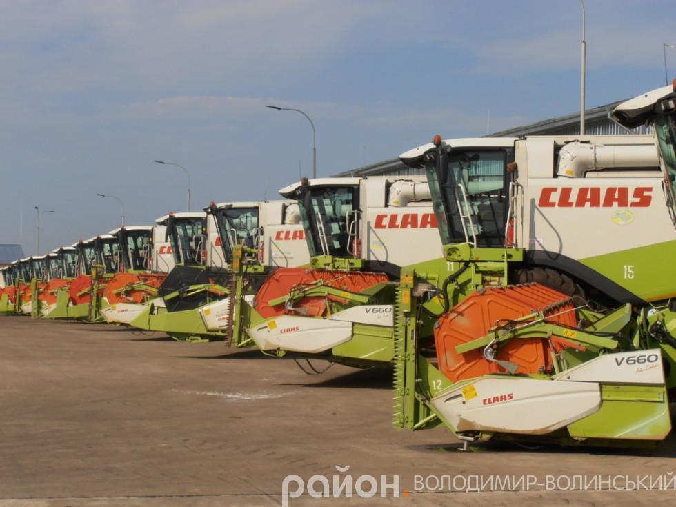 «П'ятидні» мають 20 зернозбиральних комбайнів