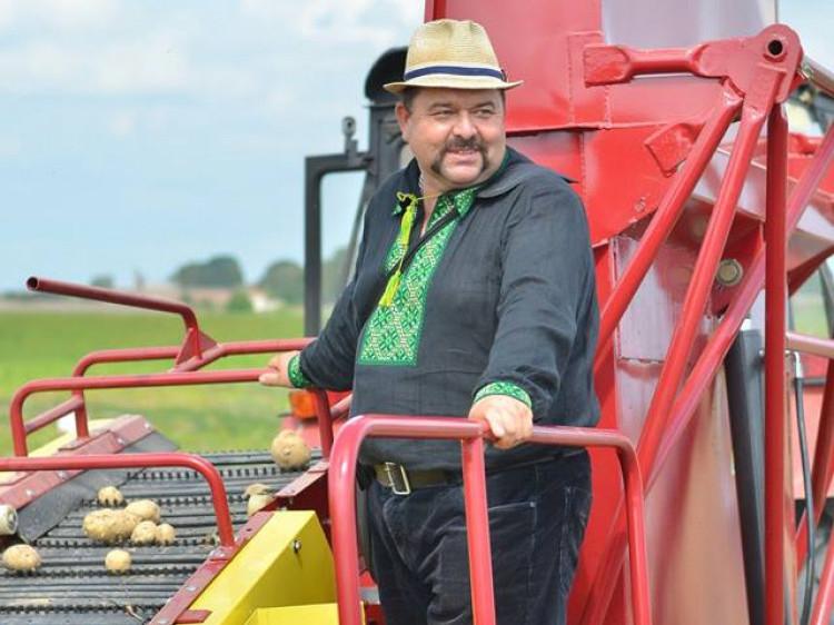 Володимир Шегедин – один зі співзасновників кооперативу «Волинська картопля»