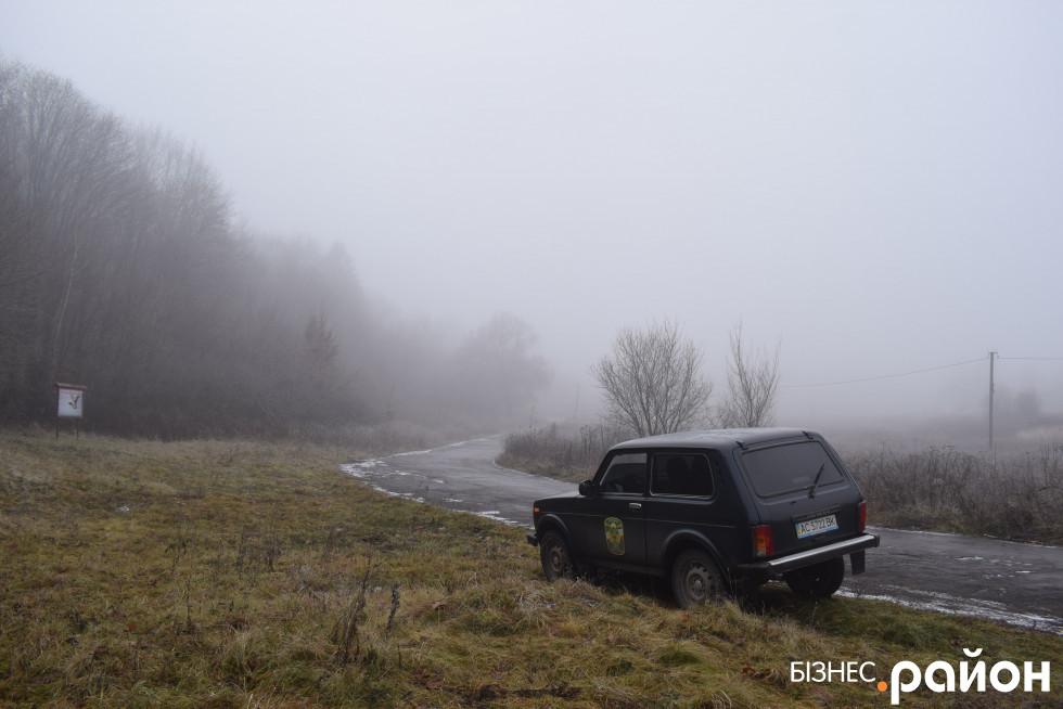 Автівка лісівників