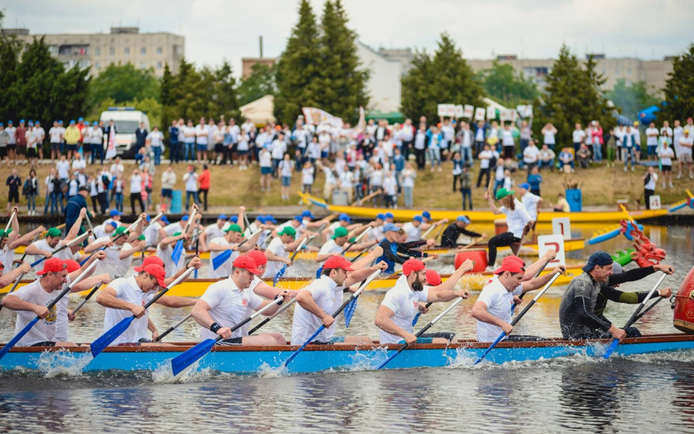 Змагання з Dragonboat  – традиція для компанії