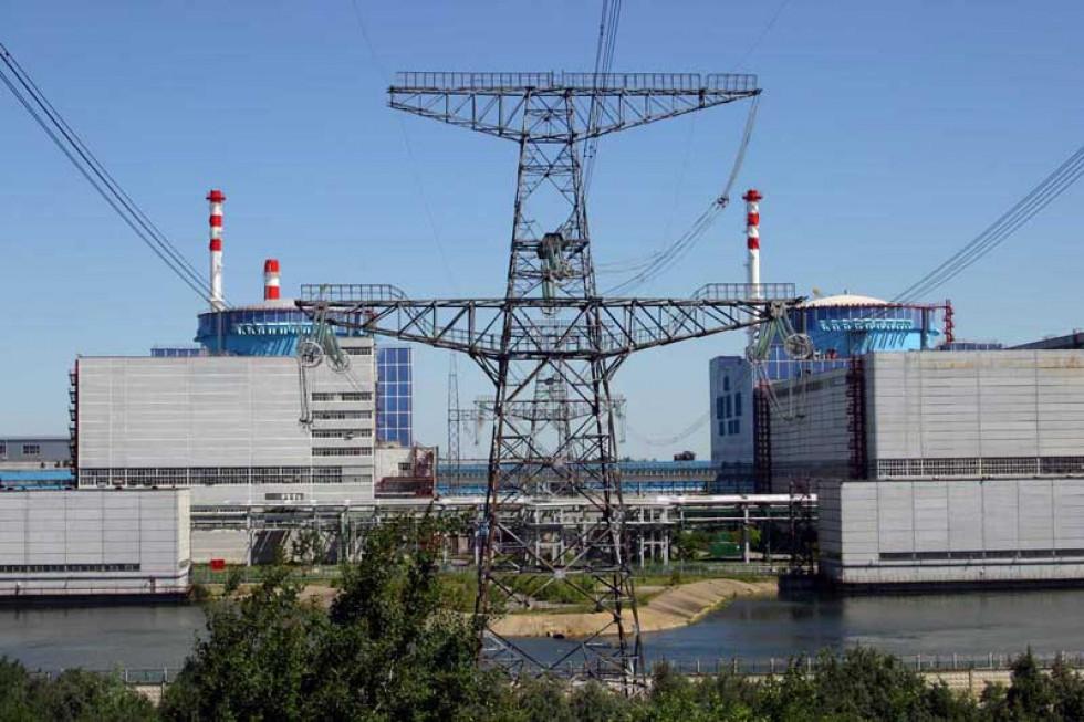 Діючі енергоблоки Хмельницької АЕС