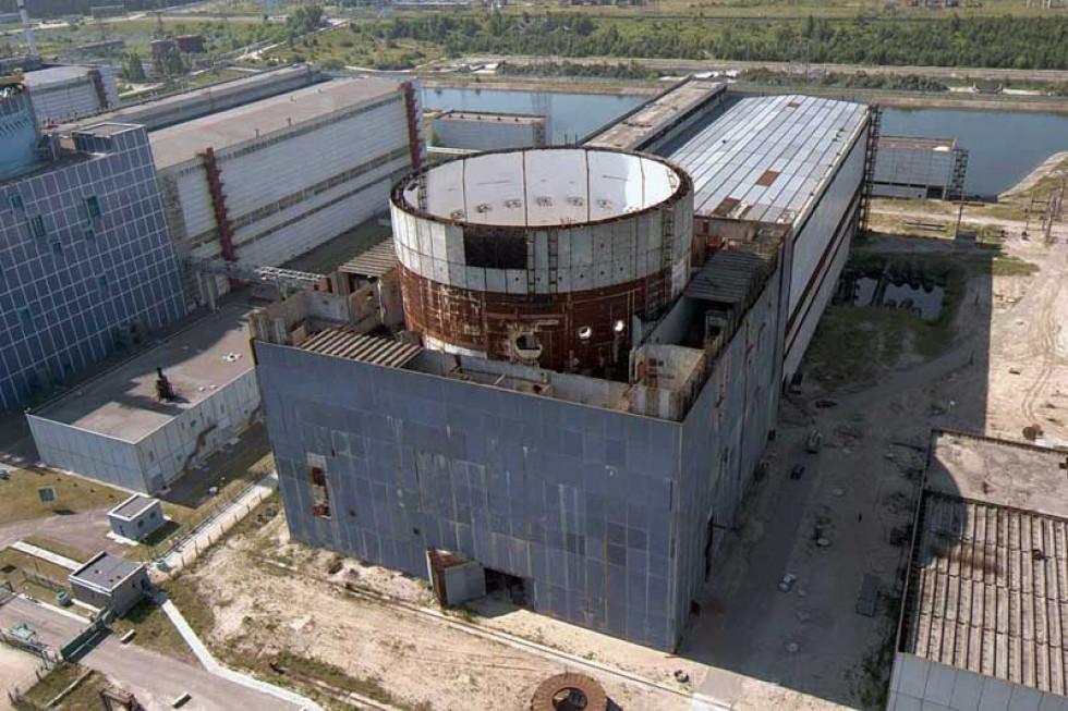 Будівельний майданчик третього енергоблока