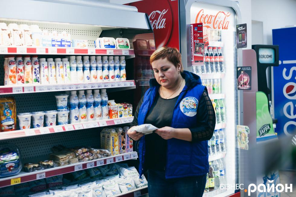 Лариса Тодорук уже шість років просуває локальний бренд «УгринівМолоко»