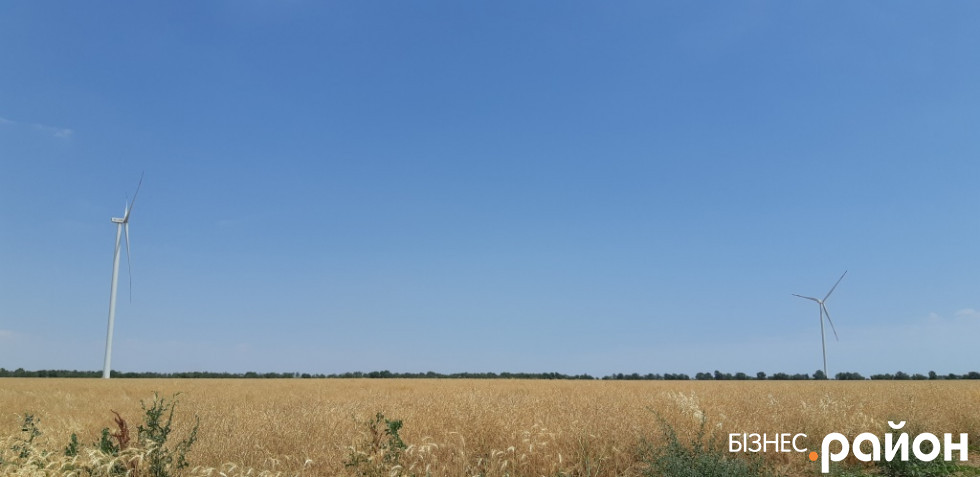 ВЕС у степу Одещини