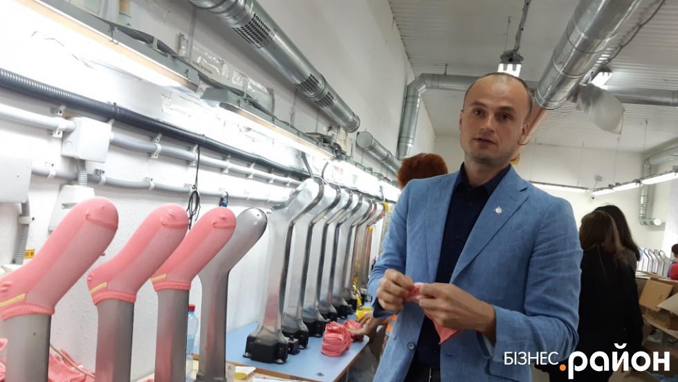 Олег Хардін знає усі виробничі процеси, але делегував управлінські функції менеджменту