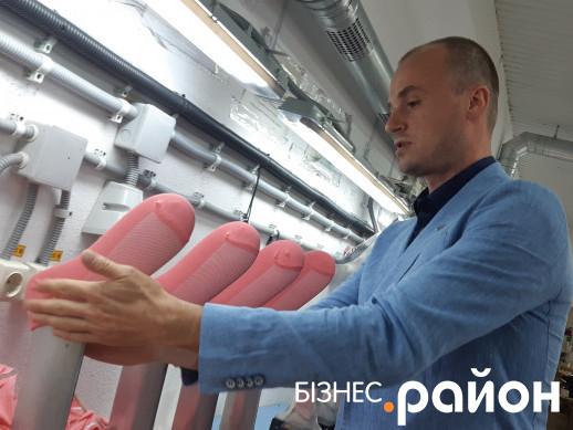Засновник компанії Premier Socks Олег Хардін