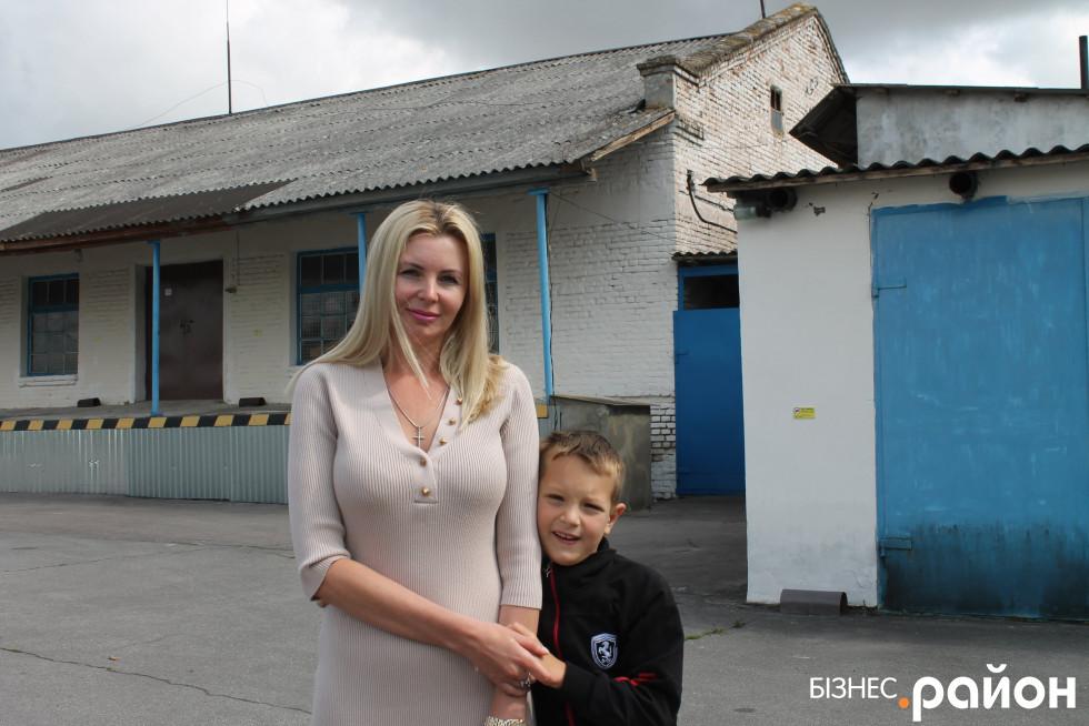 Наталія Захарчук із сином
