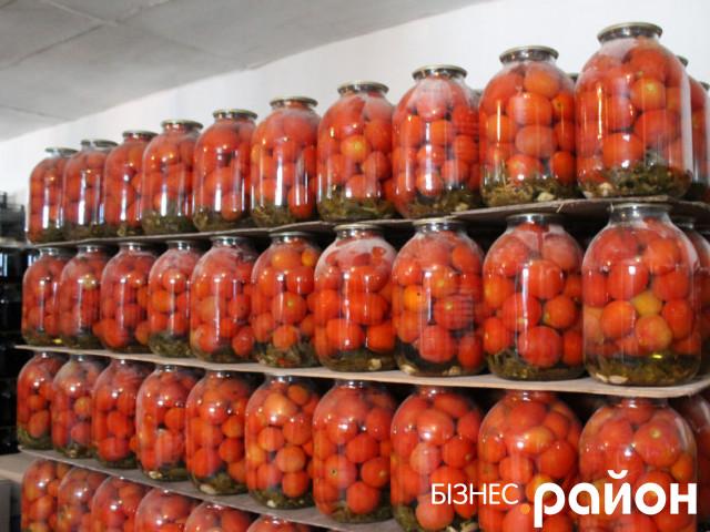 Продукція Берестечківського плодоконсервного заводу