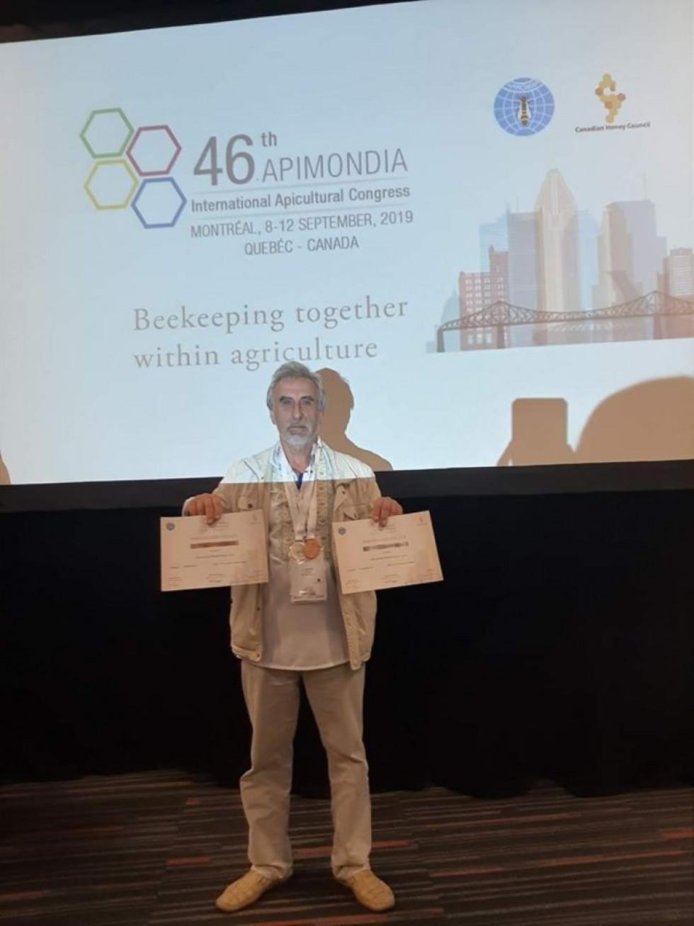 Роман Войтків на міжнародному конгресі з бджільництва «APIMONDIA-2019»