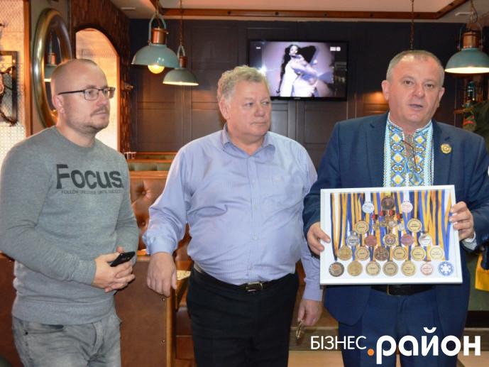 Володимир Дмитрук, Антон Шотік, Андрій Шуба (справа на ліво)