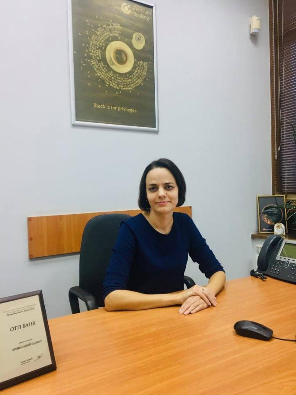 Керівниця відділу розвитку бізнесу АТ «OТП Банк» Надія Огар