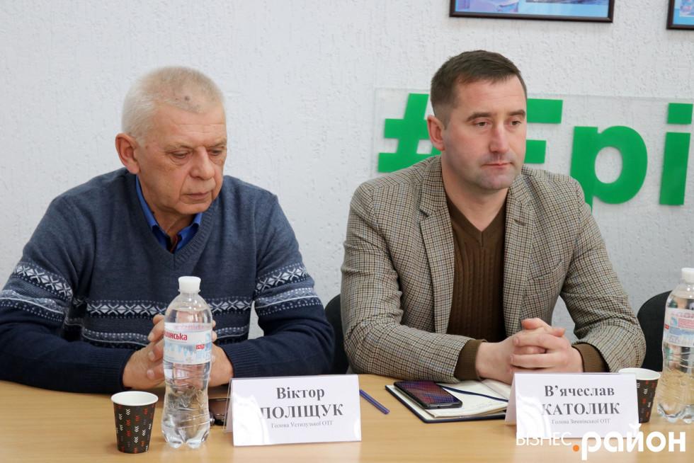 Віктор Поліщук і В'ячеслав Католик (зліва на право)