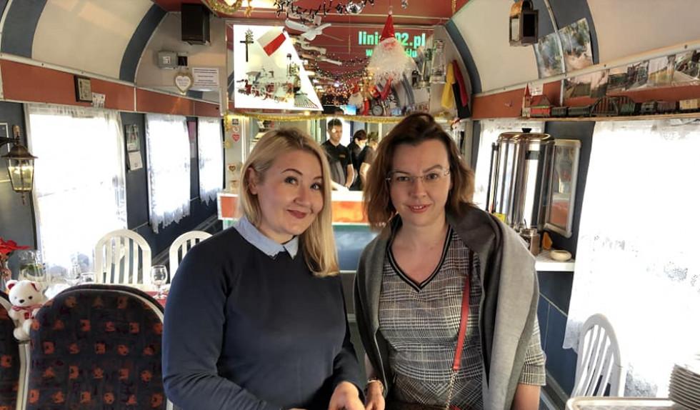 Ірина Сушко та Марта Ярошевич