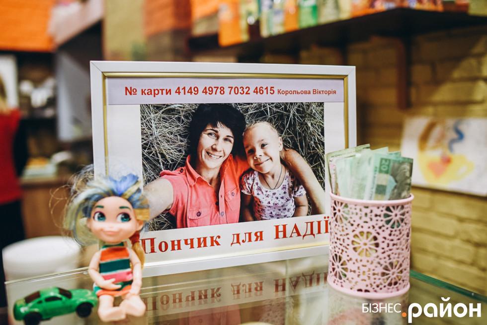 Благодійні пончики для Надії