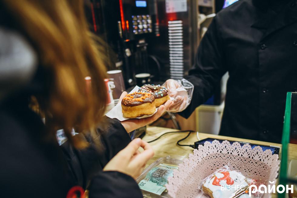 Луцька пончикарня популярна серед мешканців міста