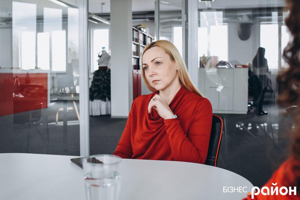 Директорка з маркетингу Ольга Кас'ян