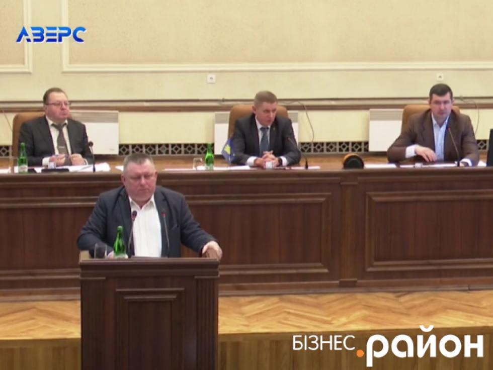 Директор департаменту фінансів ОДА Ігор Никитюк зазначив, що доведеться брати позику у держави аби максимально збалансувати річну скарбничку.